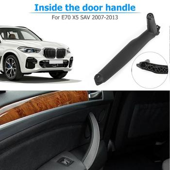1Pcs Car Styling Right Left Inner Door Panel Handle Pull Trim Holder For BMW E70 X5 E71 E72 X6 SAV Auto Interior Accessories image