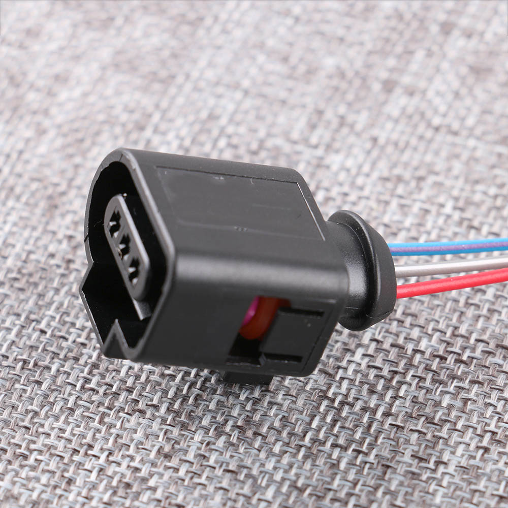 Camshaft Cam Sensor 3 Pin Wire Connector Plug Harness 1j0973703 3d0973703 For Vw Passat Golf Jetta Audi A3 A4 In Cables Adapters Sockets From