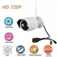 720P Outdoor Security Camera IP WiFi Waterproof Bullet Camera IR Cut Infrared Night Vision Surveillance CCTV