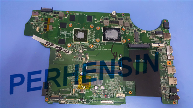 все цены на Original for MSI GE72 LAPTOP MOTHERBOARD MS-16J21 MS-1795 MS-17951 WITH I7-5700HQ CPU AND GTX950M 100% Work Perfectly онлайн