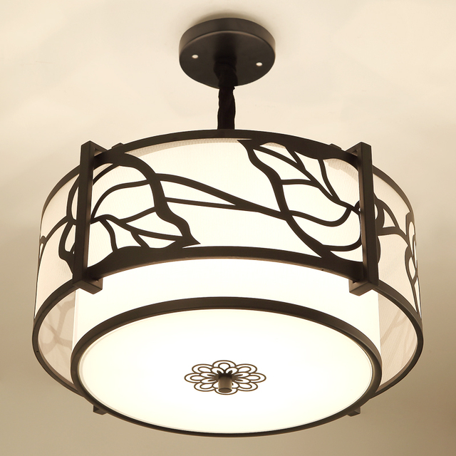 Hot new chinese ceiling lights living room round lights led hot new chinese ceiling lights living room round lights led atmosphere modern simple study leaves leaves aloadofball Choice Image