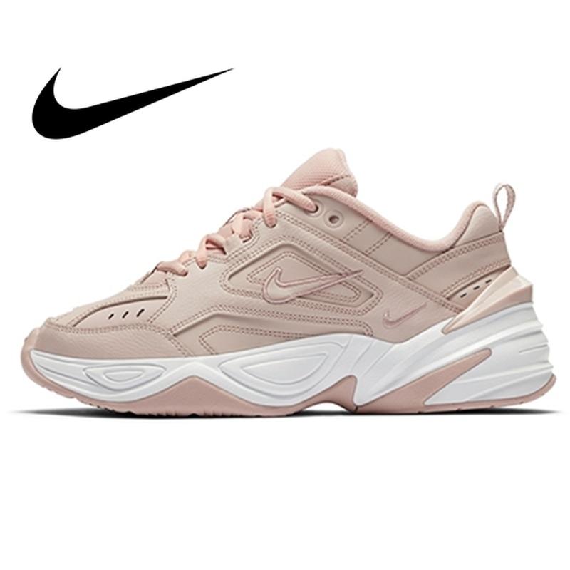 Nike M2K TEKNO Original Women Light Running Shoes Sneakers 2019 New Outdoor Sports Walking Jogging Designer Athletic #AO3108