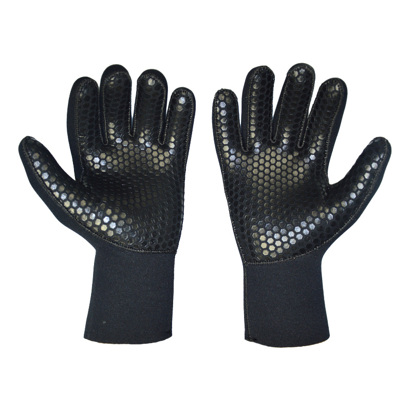 Layatone Wetsuit Gloves Men 5mm Neoprene Diving Gloves Spearfishing Swimming Surfing Underwater Fishing Scuba Free Dive Kayak