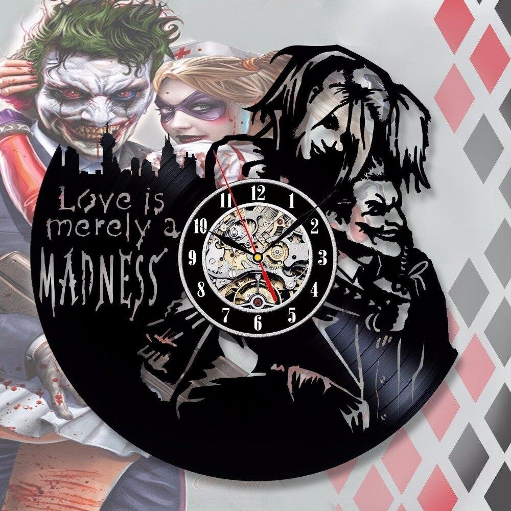 Harley Quinn Batman Villain Joker Gotham Wall Art Decal Sticker Picture Decorate