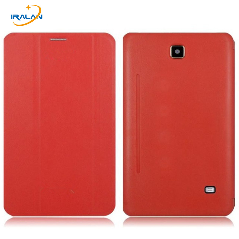 2017 Hot Smart flip Tab4 T230 Case PU Leather Stand Flip Case Cover for Samsung Galaxy Tab 4 7.0 T231 T230NU T235 + Stylus free