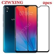 2 sztuk dla VIVO Y91C szkło hartowane Vivo Y91 ochronne do ekranu VIVO Y91C Y91 C VIVOY91C pełna pokrywa szklana film