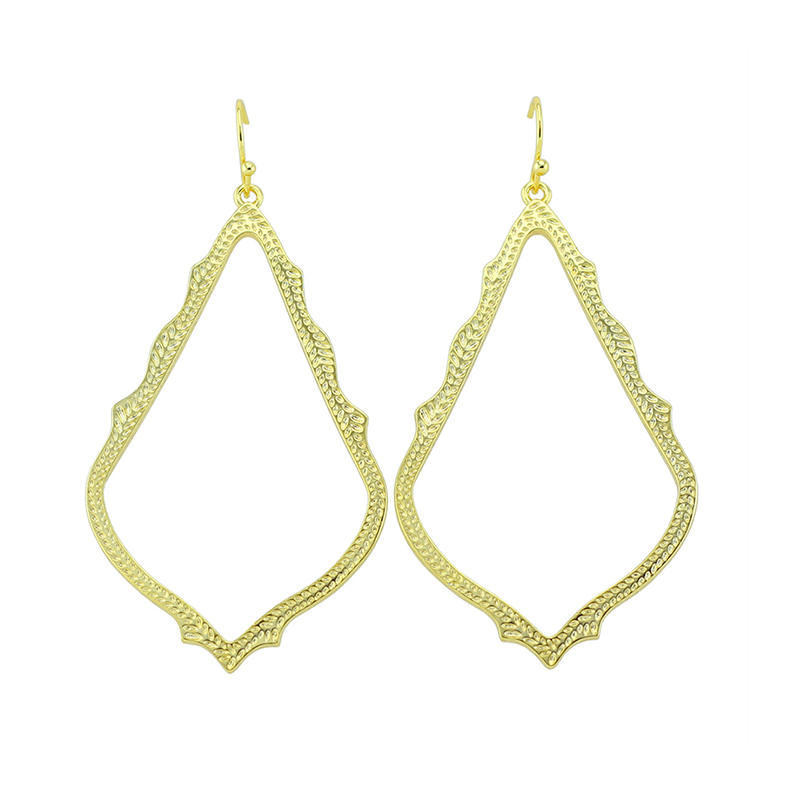 Newest Design! Trendy KS Sophee Dangle Earrings Gold Statement Earrings Modern Jewelry for Women Wholesale Gift