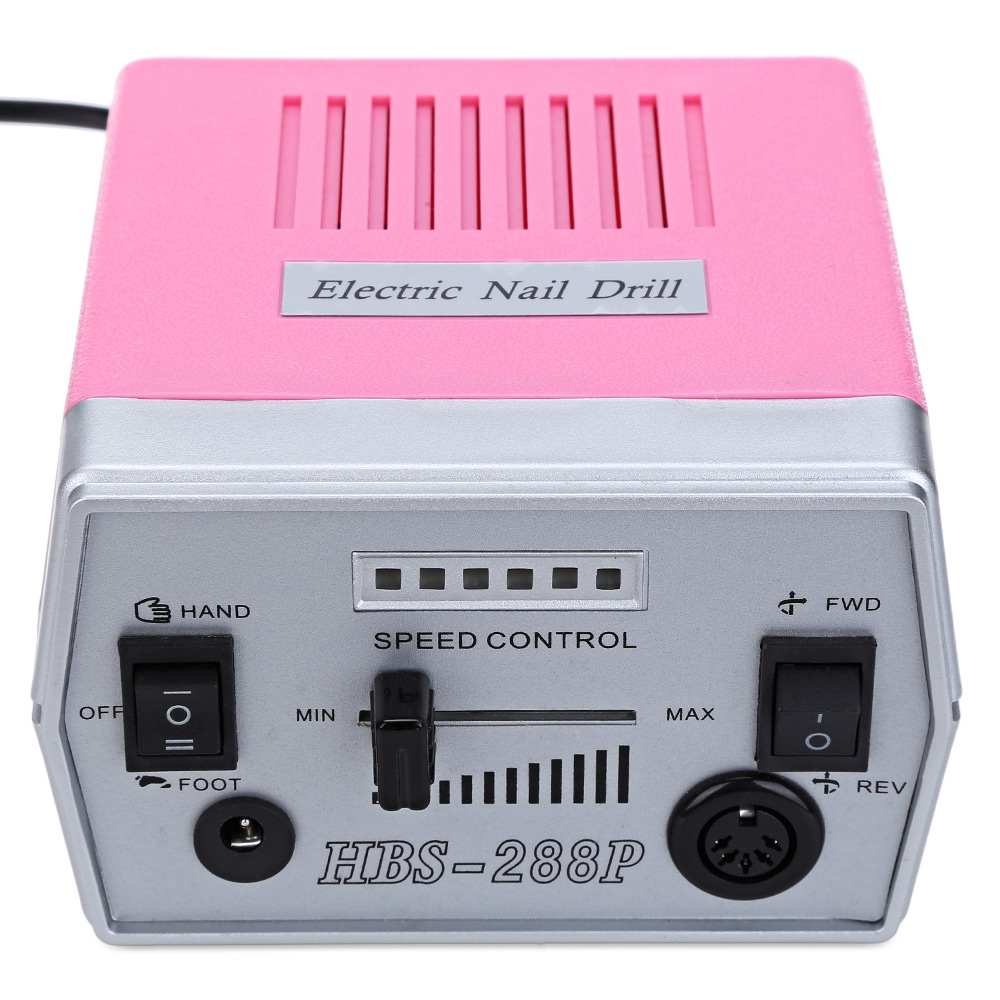Gustala False Nail Electric File Drill Manicure Pedicure Machine ...