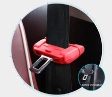 Car Safety Belt Plug Protective Sheath Buckle Automobile Seat Accessories Interior