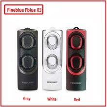 Fineblue Fblue XS Wireless Bluetooth 5.0 Headset Earbud Sound Binaural Mini Earphones With Magnetic Charging Socket