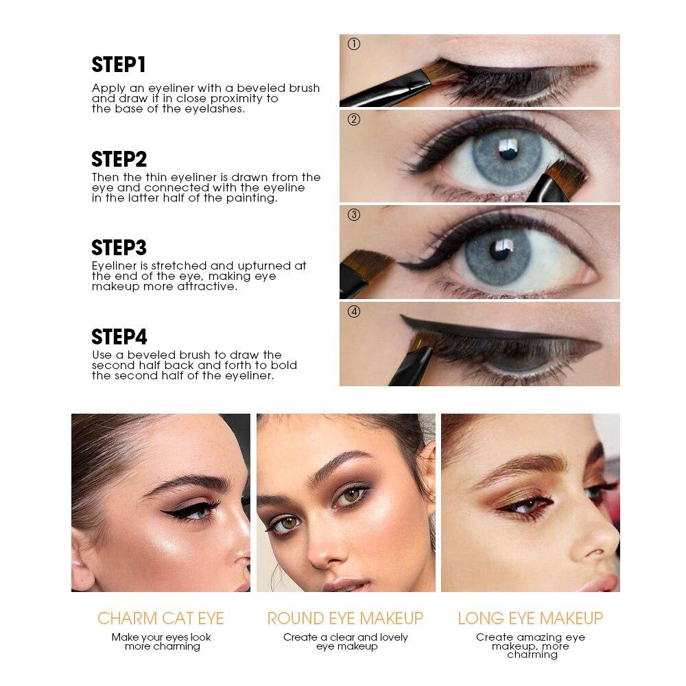 France Henlics Makeup Eyeliner Gel Black Eye Liner Cream With Make