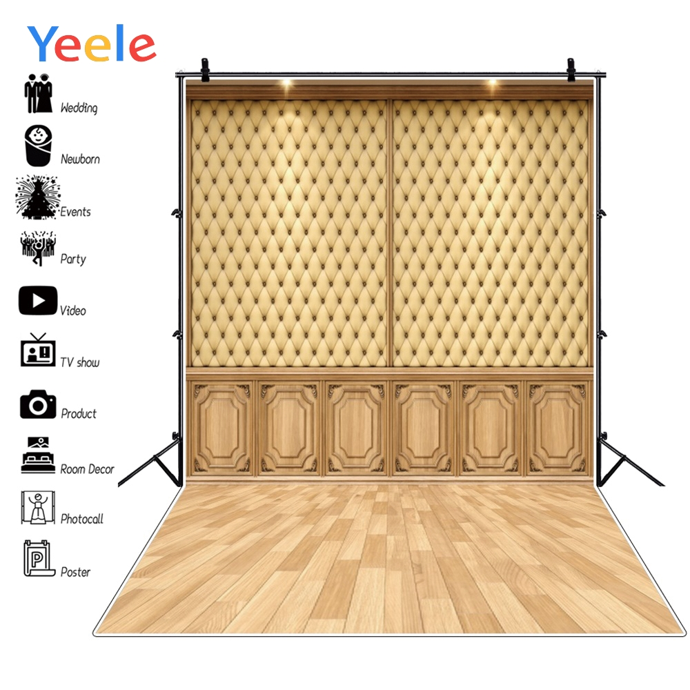 Yeele Wedding Portrait Leather Wall Photographic Backgrounds Professional Interior Photography Backdrops For The Photo Studio in Background from Consumer Electronics