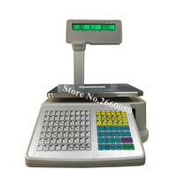 TM A 2012 Digital Price Computing Electronic Balance & Barcode Printer for Retailers Label Printing Scales English/Arabic