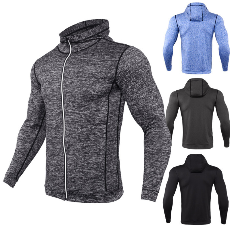 fashion hoodie sweatshirt Men Clothing Long Sleeve men's Casual mens Hooded jackets cardigan zipper Tops hoodies