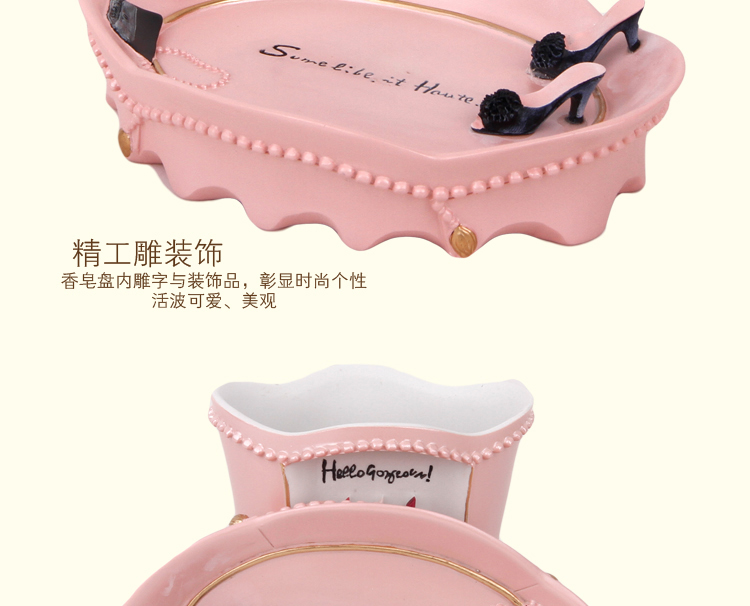 Badkamer Accessoires Roze : Roze badkamer accessoires meisjes vijf stuks acessorios vanheiro