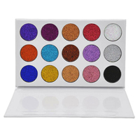 Brand New 15 Color Diamond Eye Shadow Palette Makeup Pigmend By Temptalia