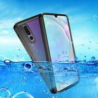 Funda impermeable IP68 para Huawei P20 Lite Funda P20 Pro protección completa a prueba de polvo Funda de buceo para Huawei P30 Pro P30 Lite Funda
