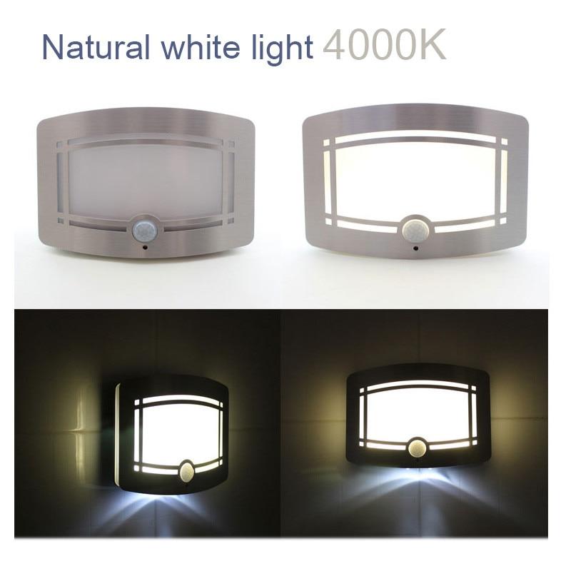 Drahtloser Bewegungssensor aktiviert LED-Wandnachtlicht - Nachtlichter - Foto 3