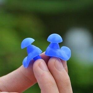 Image 1 - 耳プラグシリコーン耳保護睡眠のための泡プラグアンチノイズ耳プロテクター耳栓ノイズリダクション聴覚保護