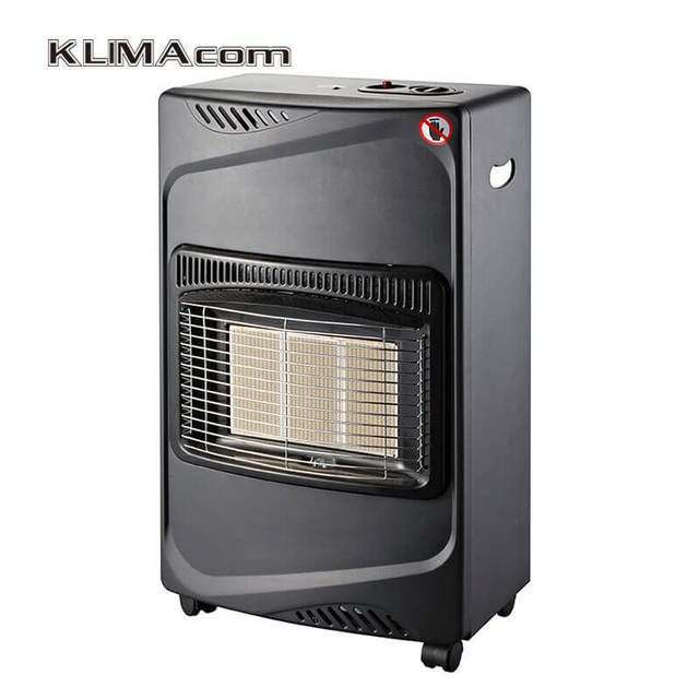 Free Standing Living Room Gas Heater Household Infrared Indoor Cabinet  Heaters Butane/Protane Blue Flame