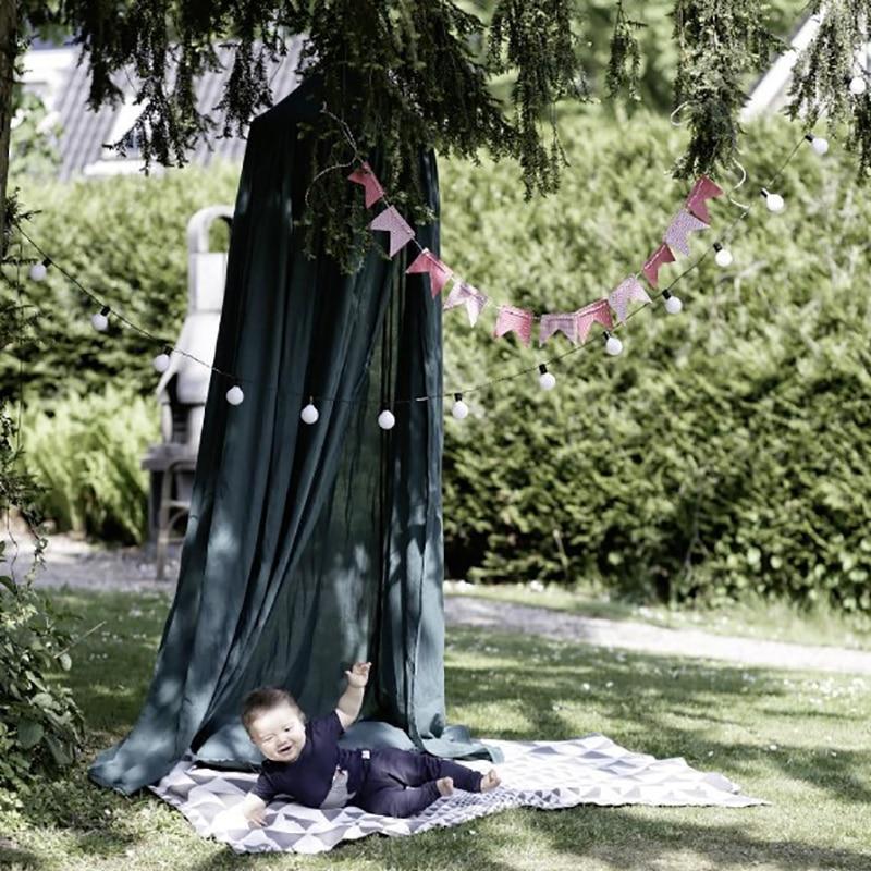 Enfants Chambre Dôme Tente Accroché Dôme Moustiquaire Tipi Tente enfants Lit Tente Parti Décoration Jouer Tente Hanging Tipis Lit rideau