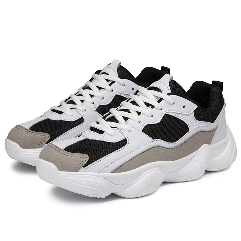 65dda12a5eb41 Men s Running Shoes Mesh Breathable Outdoor Sport Shoes Men Yeezys 500  Sneakers Mens Lightweight Athletic Shoes Old Daddy Shoes-in Running Shoes  from Sports ...