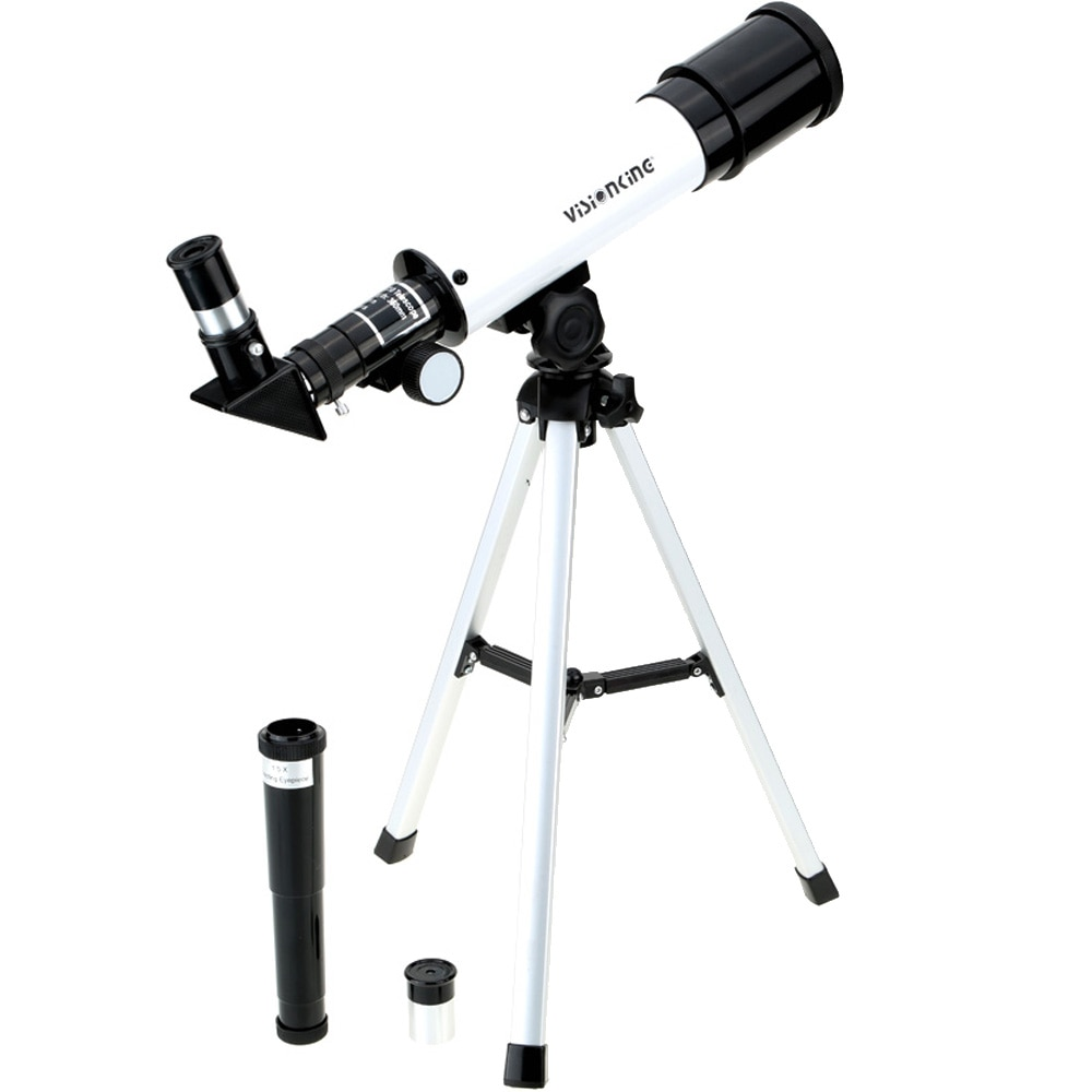 F36050 Refractive HD Astronomical Telescope Monocular Spotting Scope Wide Angle Powerful Zoom with Tripod