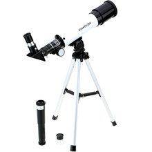 F36050 Refractive HD Astronomical Telescope Monocular Spotting Scope Monocular Wide Angle Powerful Zoom Telescope with Tripod стоимость