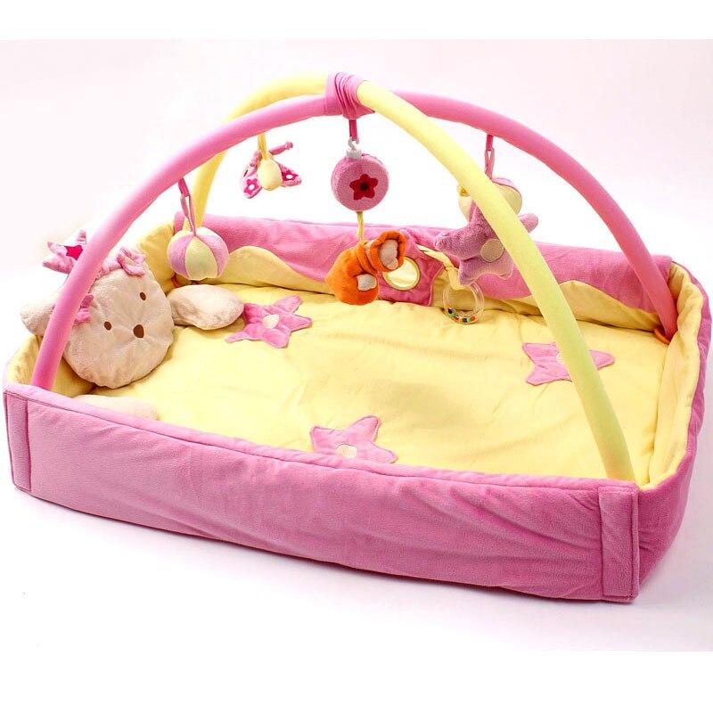 Ours kaki Bette princesse princesse musique chenille couverture tapis jeu Pad ramper Pad Puzzle jouets tapis gym tapis cadeau étoile kt chat - 4