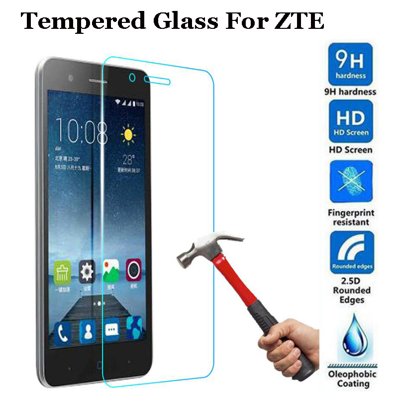 GerTong Screen Protector Tempered Glass For ZTE Nubia Z11 Mini S Blade V7 Lite A510 A512 X3 X5 X7 GF3 L3 L110 S6 Case Film GlassGerTong Screen Protector Tempered Glass For ZTE Nubia Z11 Mini S Blade V7 Lite A510 A512 X3 X5 X7 GF3 L3 L110 S6 Case Film Glass