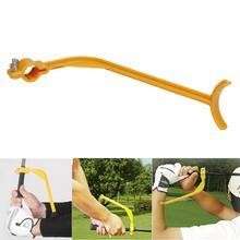 Gorąca sprzedaż profesjonalne Golf Swing Przewodnik szkolenia pomoc trener nadgarstka Korekcja korektora gest skuteczne narzędzie szkolenia Golf tanie tanio Swing Trainer Golf Swing Trainer Strefa rowerowa