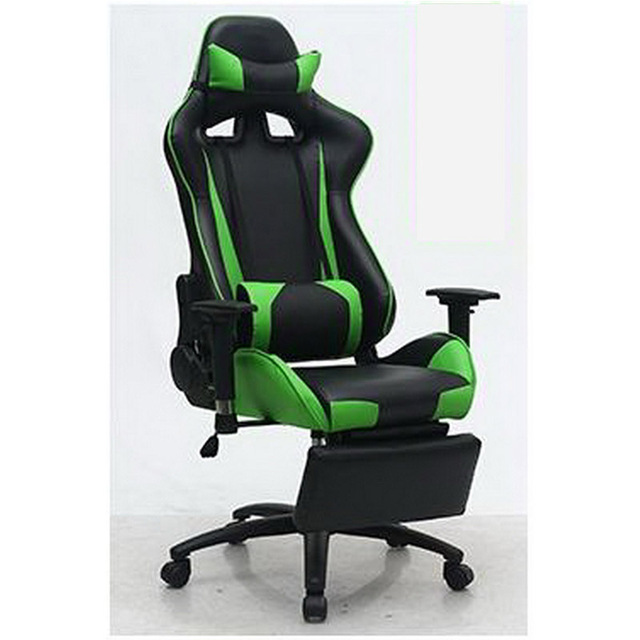L350111/massage Gaming Chair/ Home Office/360 Degree Rotation/ Fixed  Handrail/