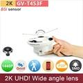 Lente grande angular Ultra UHD 2 K ip camera 4mp BSI H.265 sensor ONVIF 1440 P/1080 P full HD câmeras de vigilância cctv GANVIS GV-T453F