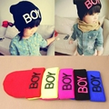 New Fashion Toddler Baby Girl Boy Winter Warm Woolen Skull Hats BOY Beanie Caps Ski Hats