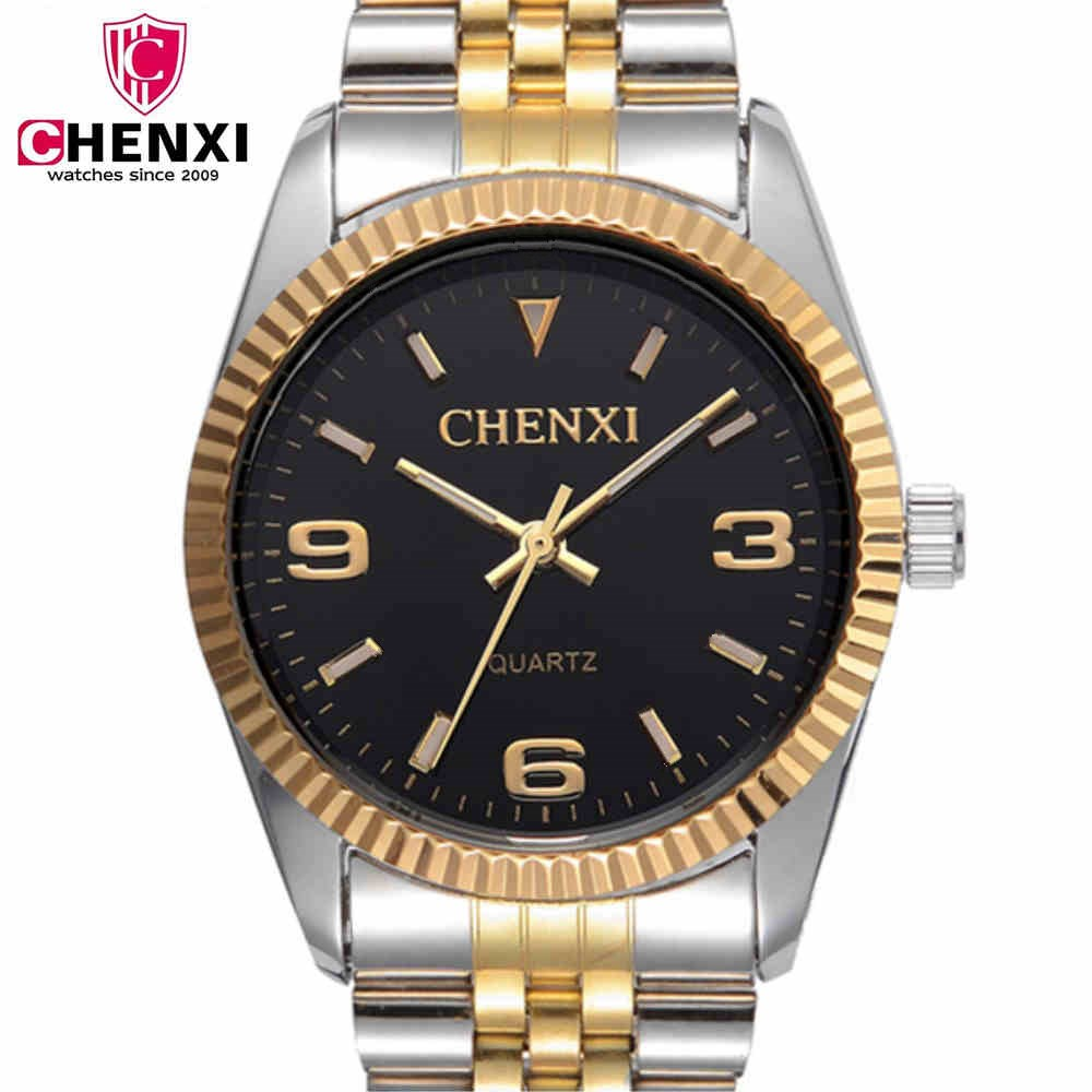 CHENXI Quartz Watch Men Top Brand Luxury Famous Wristwatches Man Clock Stainless Steel Strap Watches Male Gifts Clock NATATE natate new popular men fashion quartz watch leisure business luxury chenxi brand stainless sports wristwatch 1240