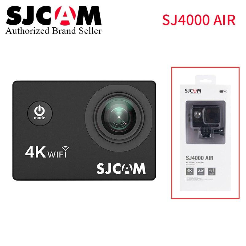SJCAM SJ4000 caméra d'action aérienne 1080 P Full HD 4 K WIFI Sport DV 2.0 pouces écran mini caméscope vs sj pro yi 4 k sj8 H9r helm camara