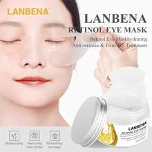 Hyaluronic Acid Eye Mask Retinol Eye Patches Mask for Anti-Aging Remove Dark Circles Bags Eye Lines Repair Nourish Skin Care MZ1