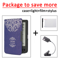 New Cover For Pocketbook 625 614 615 624 626 626 Plus Ultra Slim Thin Case LED
