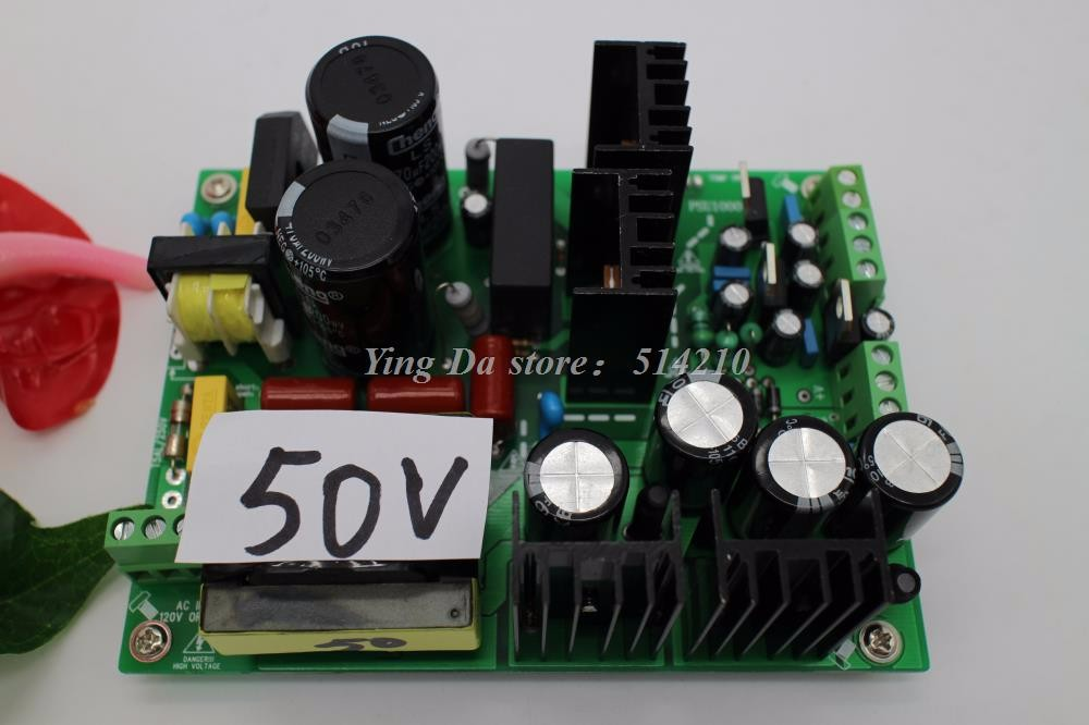 500W +/-50V amplifier switching power supply board dual-voltage PSU 1000w 90v llc soft switching power supply high quality hifi amplifier psu board diy