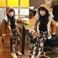 children's clothing winter wool velvet hooded jackets for girls school clothes of baby girl coat windbreaker jackets snowsuits