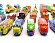 Metal Alloy Toy Vehicles Brewster Wilson Dunbar Cormac Chugger Harrison Koko Train Action Figure Set for Kids 1pc