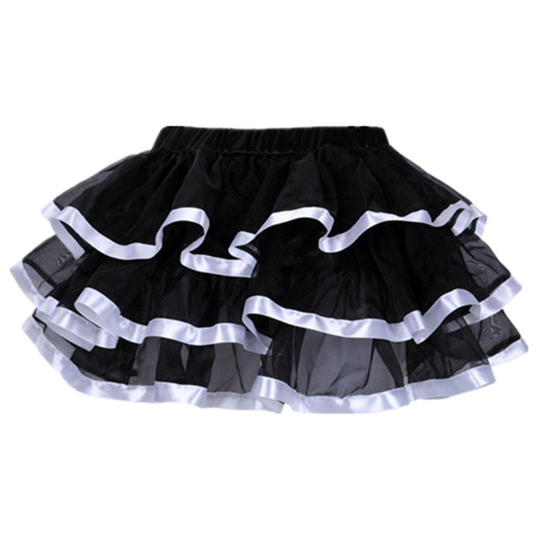 Lolita Tutu Skirt Petticoats Sexy Matching Corset Skirts Clubwear Adult Women Skirt Burlesque Underdress For Party Dance Wear