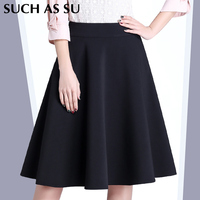 Such As Su New Fashion 2016 Autumn Winter Women S Pleated Skirts Sexy Big Hem S