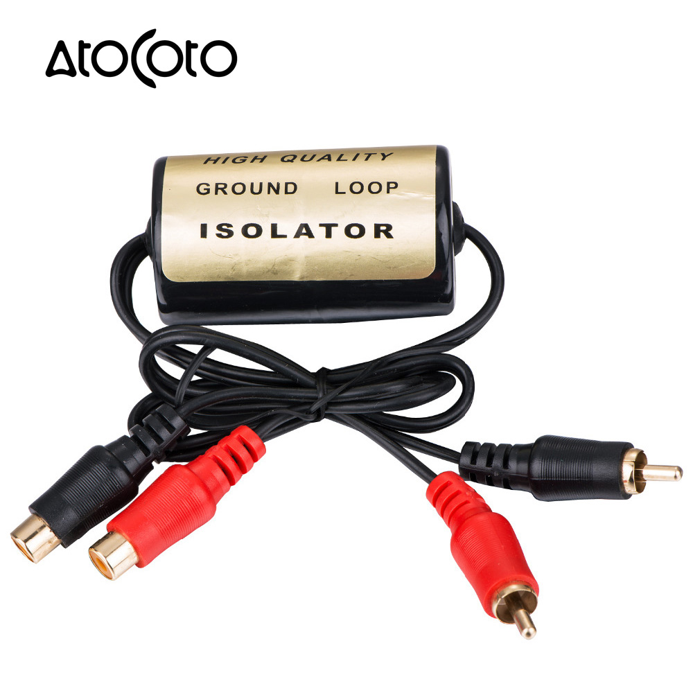 20a Car Rca Audio Noise Filter Suppressor Ground Loop Isolator Killer Remover For And Home Stereoin Cables Adapters Sockets From Automobiles Rhaliexpress: Audio Ground Loop Isolator At Gmaili.net