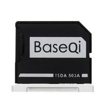 "BASEQI Aluminum MiniDrive Micro SD Card Adapter TF Card Reader For Mac Book Pro Retina 15"" Mid 2012 / Early 2013 Model 503A"