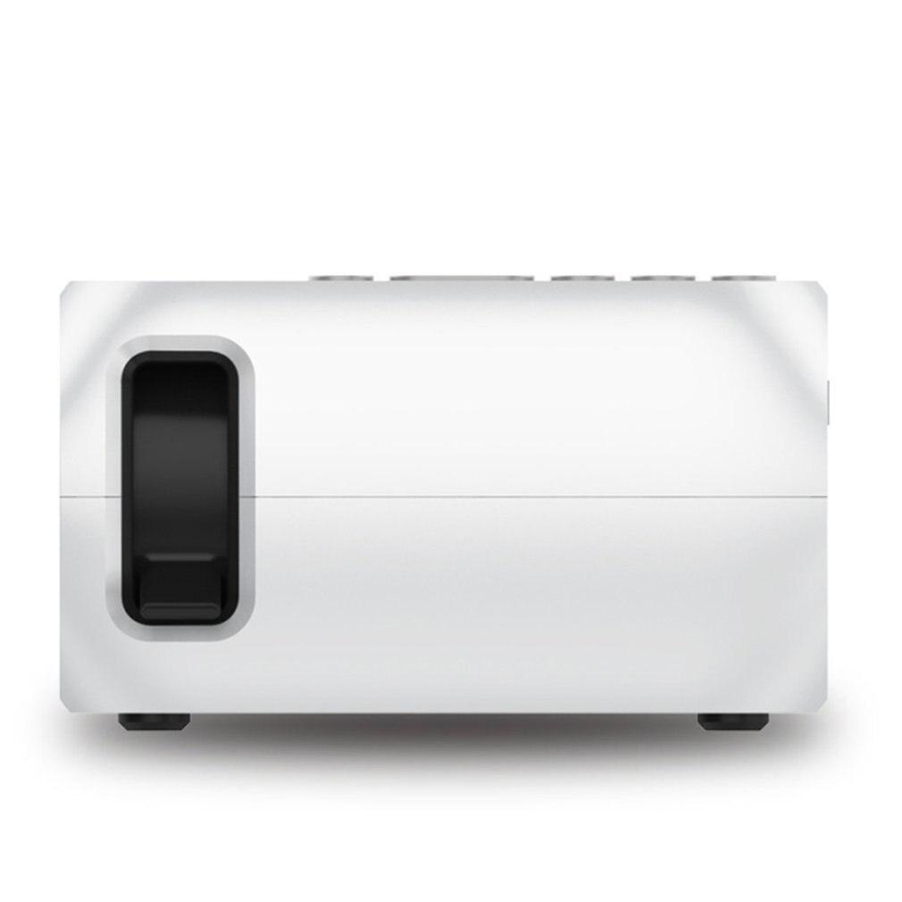 Yg320 mini portátil led projetor usb hdmi