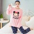 2XL Big Size Pijama Feminino Inverno Pyjama Femme Pigiama Donna Plus Size Pijama Set Pyjamas Women Pijamas Mujer Pajamas Pyjama