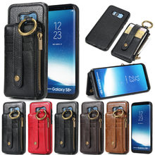 Multifunction Wallet Leather Case for Samsung S9 Plus S7 S8 Cases Plud Detachable Flip Phone Bag for Samsung S9 Plus S9+ Cover(China)