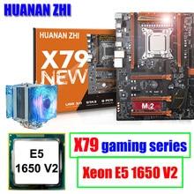 Computer hardware HUANAN ZHI deluxe X79 LGA2011 gaming motherboard with Intel Xeon