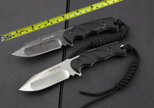 FOX Tactical Fixed Knife Survival Knife G10 Handle D2 Blade Heroic Duo Utility Tools Hunting Survival Tool